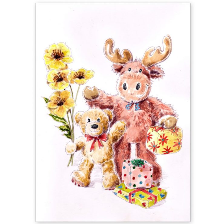 Toys and Flowers