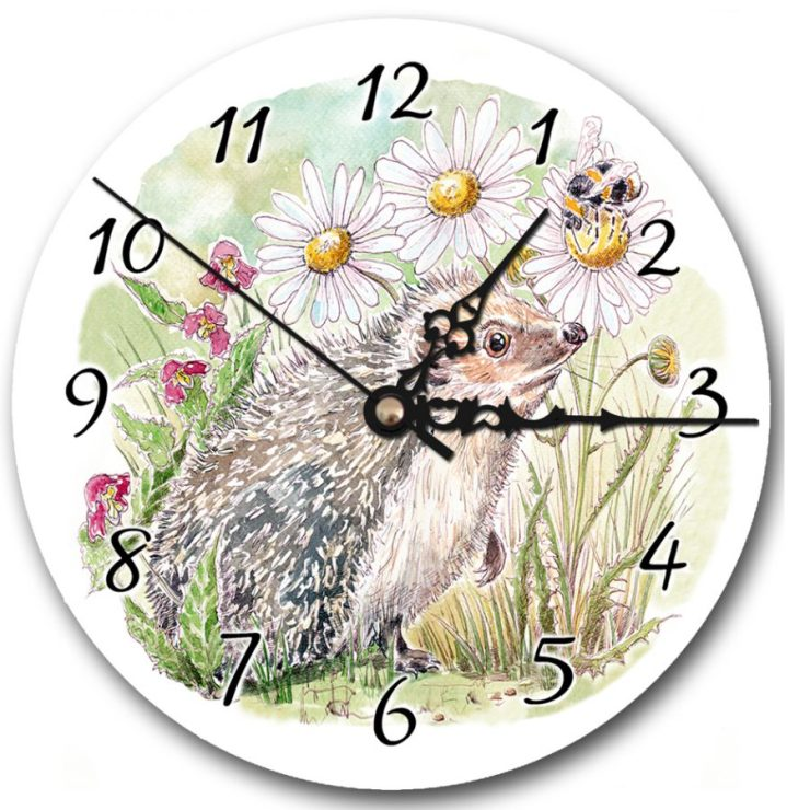 Hedgehog and Bee clock